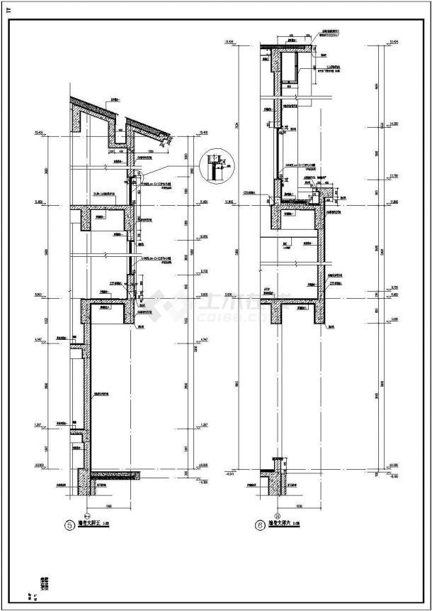 低配中心改造+商业中心工程+地下车库--建筑-图一
