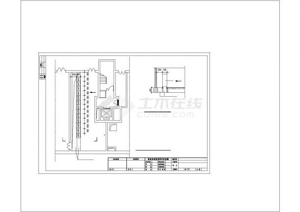 某高层住宅电气设计图纸CAD图纸-图一