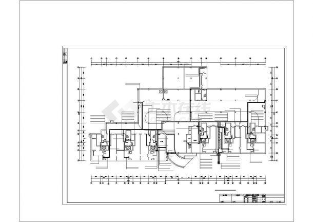 某高层住宅电气设计图纸CAD图纸-图二