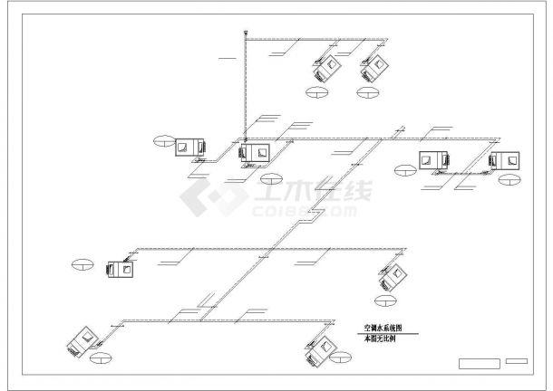 大型体育赛事场馆工程--暖通设计图-图一