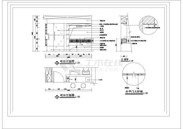 3层:长12.1米 宽8.26米 别墅装修施工图-图二