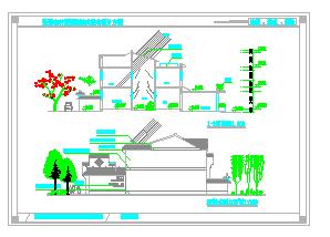 新型农村双拼独院式住宅建筑设计施工图设计说明-图一