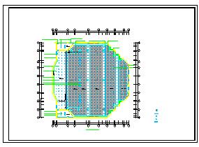 报告厅CAD建筑设计施工图-图一