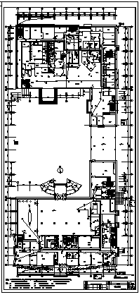 某十七层带地下室酒店电气施工cad图(含弱电系统设计)-图二