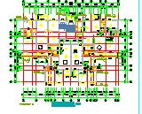 6层住宅楼建筑设计CAD平面图纸-图二