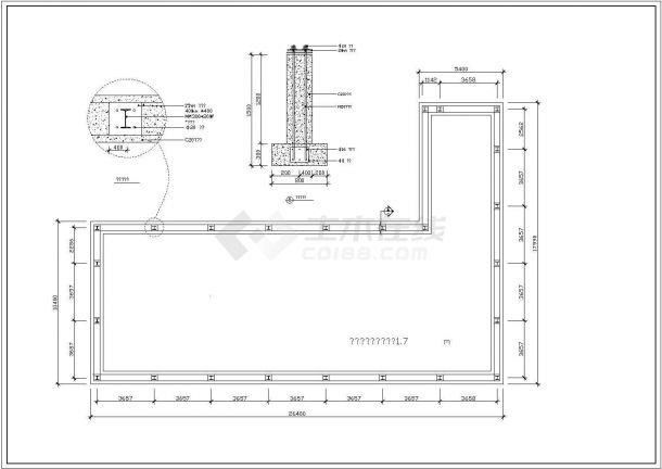 【某著名设计院】某豪宅公寓内游泳馆全套CAD施工图纸-图一