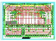 高层建筑全套设计施工图纸CAD文件-图二
