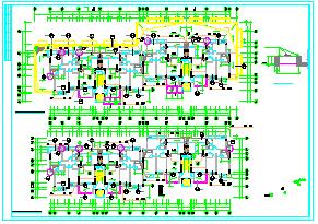 [整套]某高层住宅cad建筑设计施工图-图二