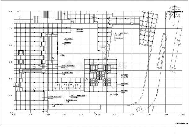 某苏州小游园CAD全套设计完整园林施工图纸-图二