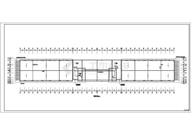 8层门诊楼电气施工CAD图纸【各层消防报警弱电照明风管控制平 应照接线竖向配电示意 安监消防报警及联动控制系统 总说明 4CAD】-图一