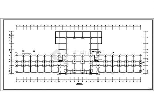 8层门诊楼电气施工CAD图纸【各层消防报警弱电照明风管控制平 应照接线竖向配电示意 安监消防报警及联动控制系统 总说明 4CAD】-图二