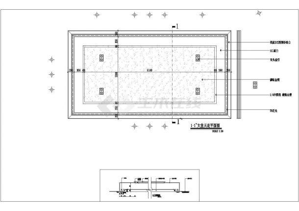 郑州鄂湘情2500平方中餐厅装修设计cad全套施工图纸(含给排水设计,含电气设计)-图一