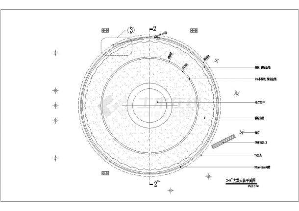 郑州鄂湘情2500平方中餐厅装修设计cad全套施工图纸(含给排水设计,含电气设计)-图二