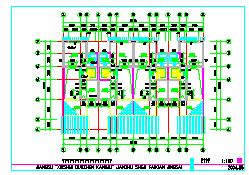 竞赛三层别墅建筑设计施工图-图一