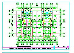 竞赛三层别墅建筑设计施工图-图二