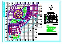 广场全套环境施工图纸-图二