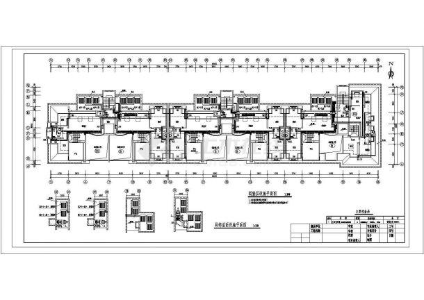 长69.42米 宽16.5米 -1+11+1阁楼层12206平米建筑设计施工图-图一