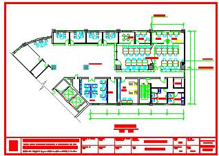 某城市某保险公司大楼CAD全套装修设计图纸-图二
