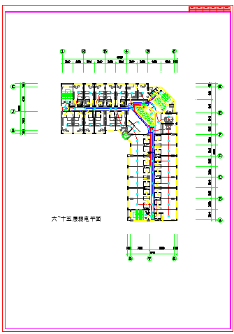 某大型机房配电cad施工设计图纸-图二