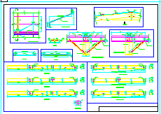 某厂区钢结构厂房全套cad设计图纸-图一