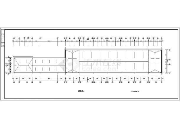 常州市钟楼区某现代小区3层砖混结构住宅楼全套建筑设计CAD图纸-图一