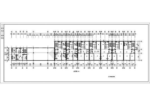常州市钟楼区某现代小区3层砖混结构住宅楼全套建筑设计CAD图纸-图二