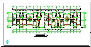 某五层住宅楼全套cad电气设计施工图纸-图二
