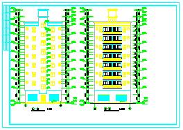 农村住宅小别墅cad合集资料大全(住宅方案、效果图)-图一