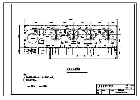土木工程毕业设计_某厂区水利枢纽工程设计cad图(含计算书,毕业设计)-图一
