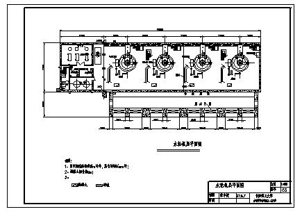 土木工程毕业设计_某厂区水利枢纽工程设计cad图(含计算书,毕业设计)-图二