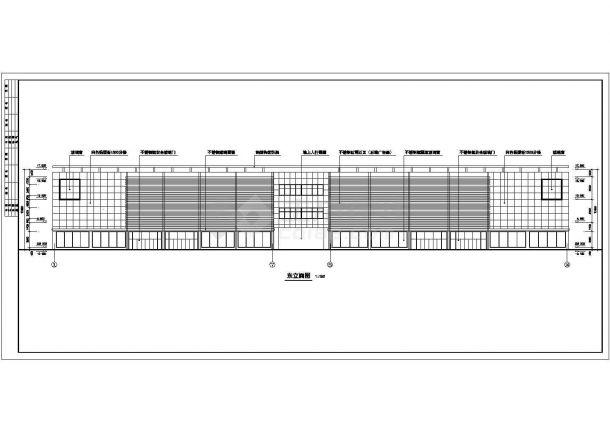 南京新街口某某商场方案修改CAD设计方案图纸-图一