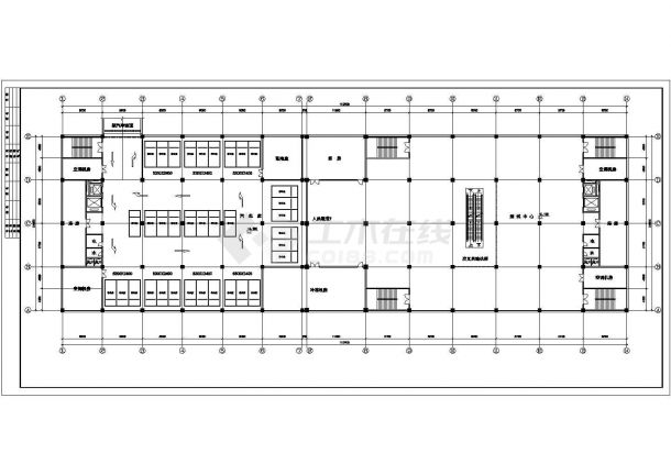 南京新街口某某商场方案修改CAD设计方案图纸-图二