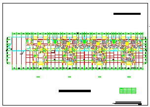 住宅建筑单体方案全套CAD施工图纸-图一