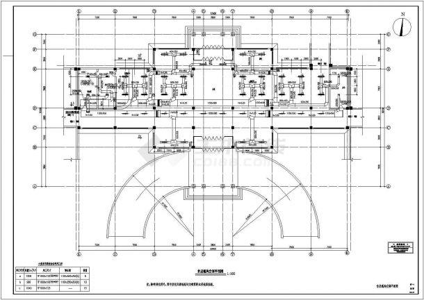 某商业综合体暖通空调系统及动力站(锅炉工艺系统 )设计cad全套施工图(含设计说明,含多套设计)-图二