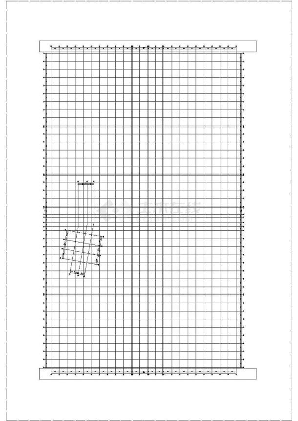 [山东]某多功能商业综合体空调通风排烟系统设计cad全套施工图(含设计说明,含负荷水力计算书)-图二