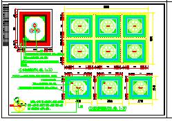 长36.5米 宽22.098米 杨浦咖啡厅装修设计方案图纸-图二