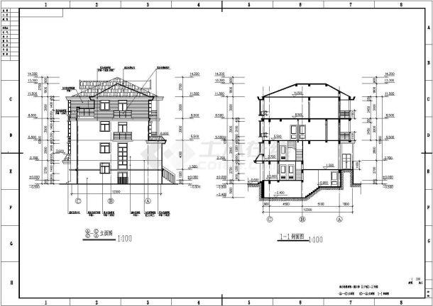 【欧派橱柜】装修设计永城市某别墅区内联排别墅设计方案-图二