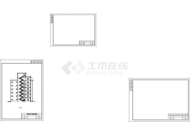 土木工程毕业设计_[学士]某地8层框架结构教学楼毕业设计计算书及图纸-图二