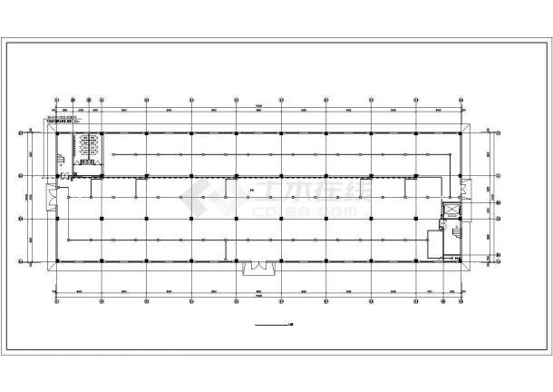 上海某二层厂房电气施工图纸-图二