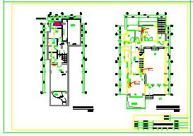 DF户型别墅空调cad设计施工图-图一