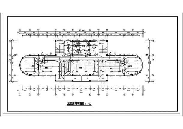 多层办公楼电气设计方案施工图系列-图二