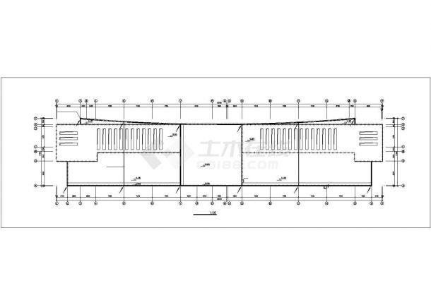 多层办公楼电气设计施工图系列-图一