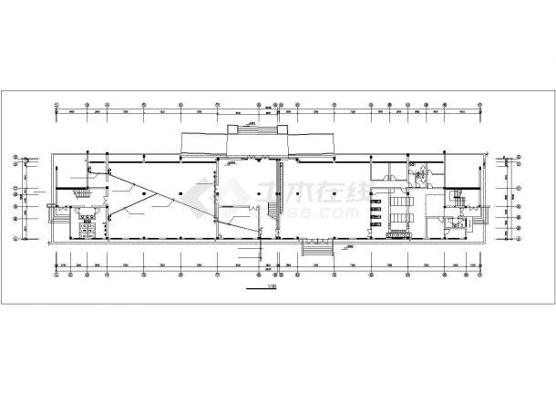 多层办公楼电气设计施工图系列-图二