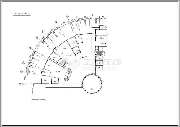 幼儿园设计_某地区小型四层幼儿园设计CAD图-图一