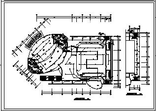 某十九层管理中心办公大楼电气施工cad图(含火灾自动报警设计)-图一