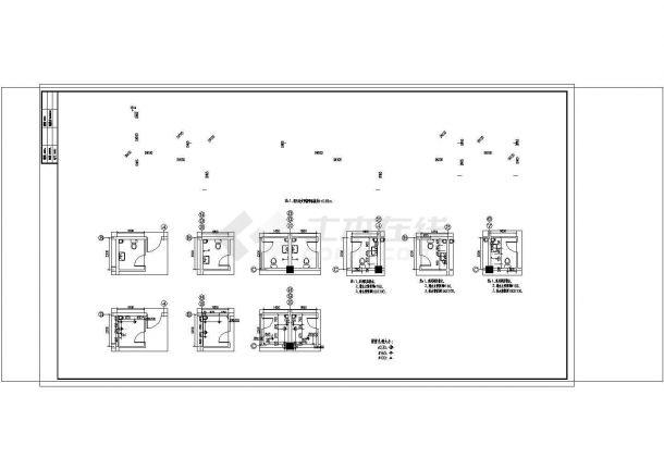 大型综合性建筑给排水图纸(餐饮娱乐宾馆同层排水)非常标准cad图纸设计-图二