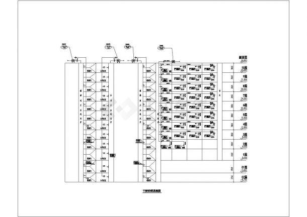 某城市广场空调通风及防排烟系统设计cad全套施工图(含设计说明)-图一