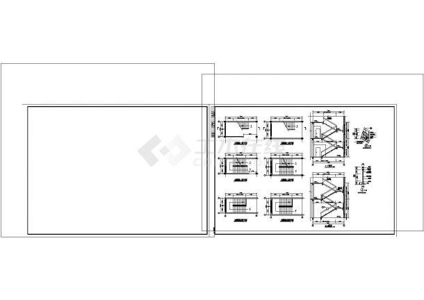 厂房设计_某小厂房建筑施工图非常标准CAD图纸设计-图一