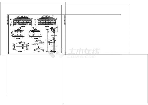 厂房设计_某小厂房建筑施工图非常标准CAD图纸设计-图二