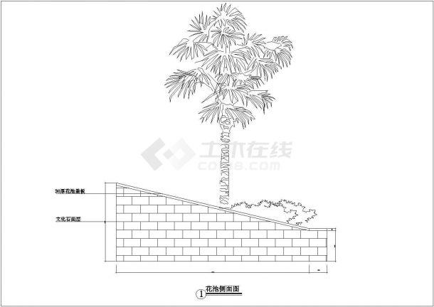 【毫州】某地华汇康城小区全套景观施工设计cad图纸(含灯位总图)-图一
